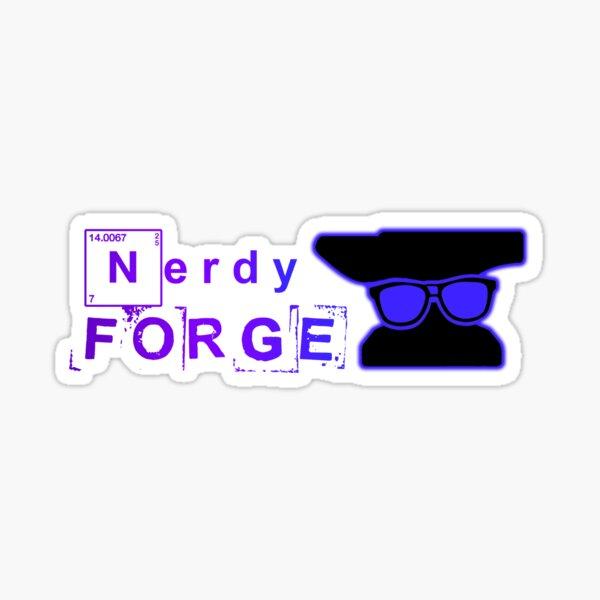 Our NerdyForge Logo  Sticker