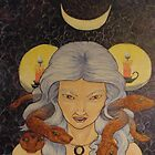 Hekate, Serpent Haired by WicketIcons