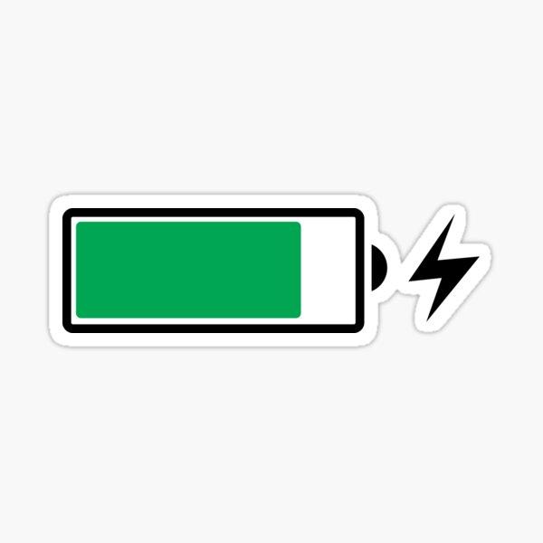 Battery Charging (B) Sticker
