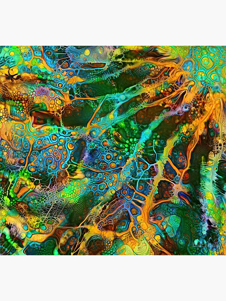 Deepdream abstraction by blackhalt