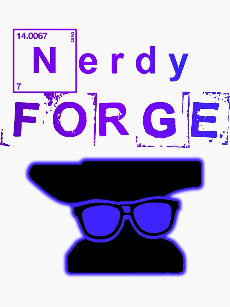 Our Vertical NerdyForge Logo by NerdyForge