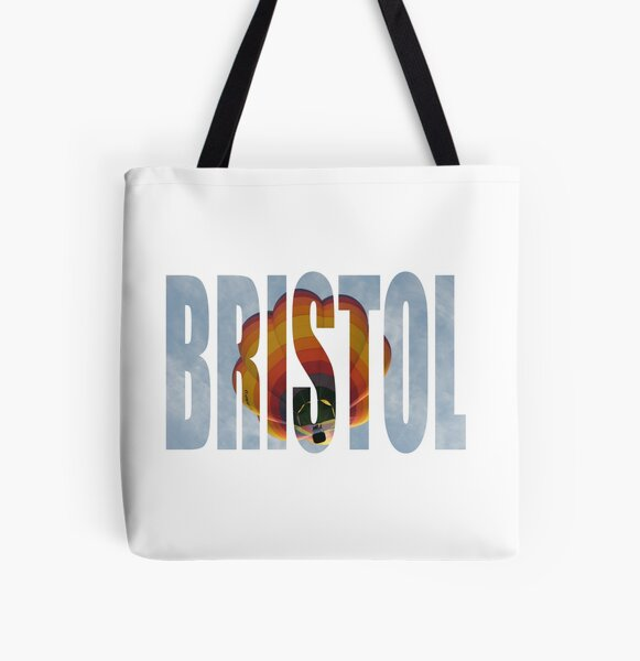 Balloon over Bristol All Over Print Tote Bag