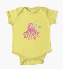 Cute Octopus One Piece - Short Sleeve