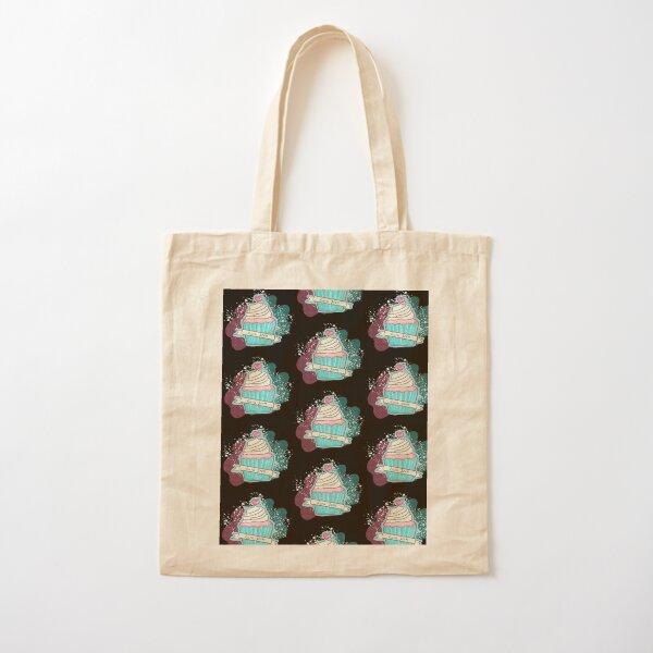 CupCake Kawaii Bolsa de algodón