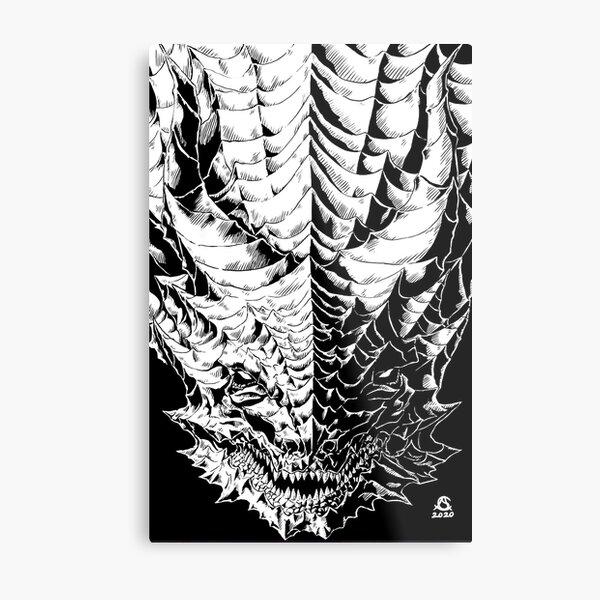 the Dragon version 3 Metal Print