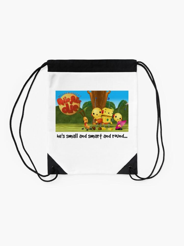 Alternate view of Rolie Polie Olie Drawstring Bag