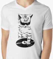 DJ Scratch Men's V-Neck T-Shirt
