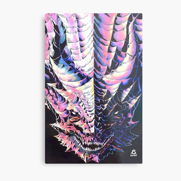 the Dragon version 2 Metal Print