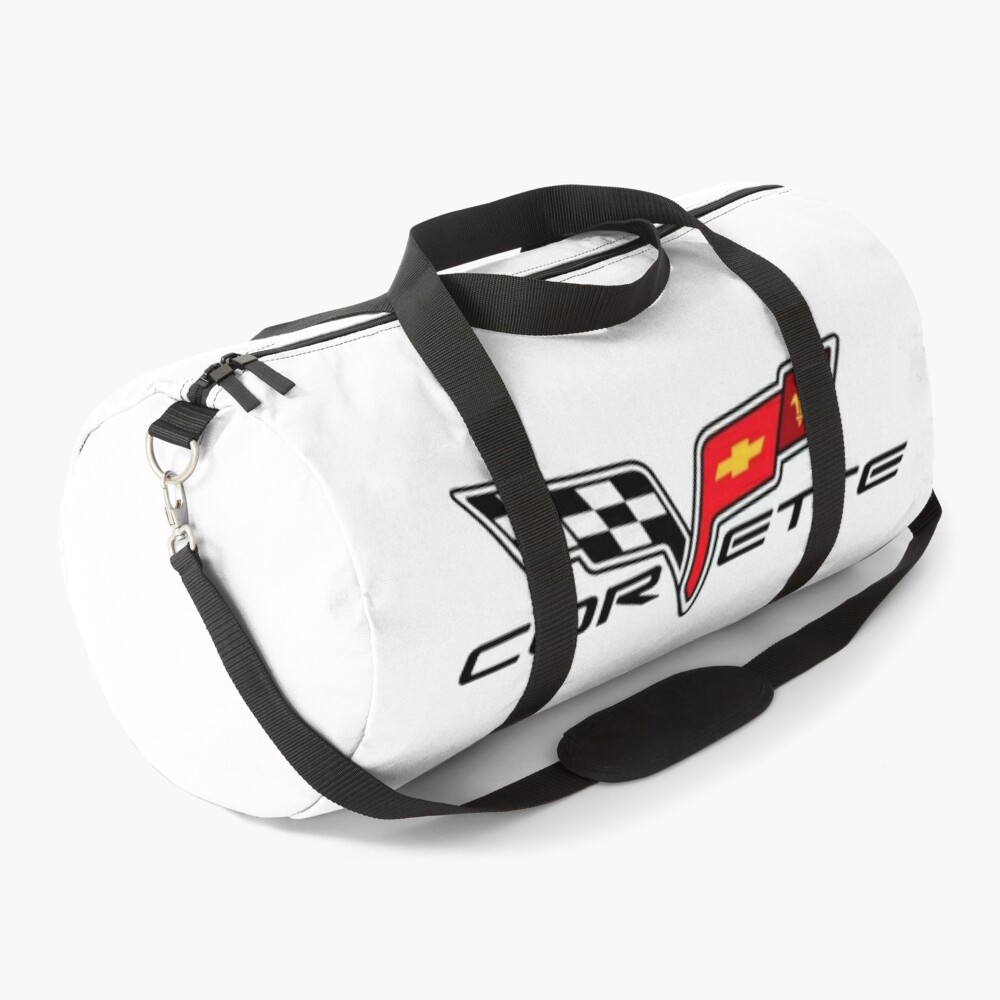 Corvette logo c6 Duffle Bag