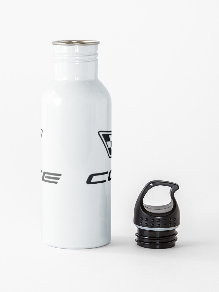 Alternate view of Corvette logo c6 Water Bottle