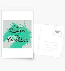 Ramen and Varelse, Ender's Game Postcards