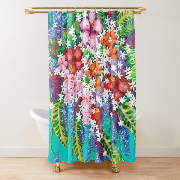 Tribute to Melanin #2 - Flower Alternative Shower Curtain