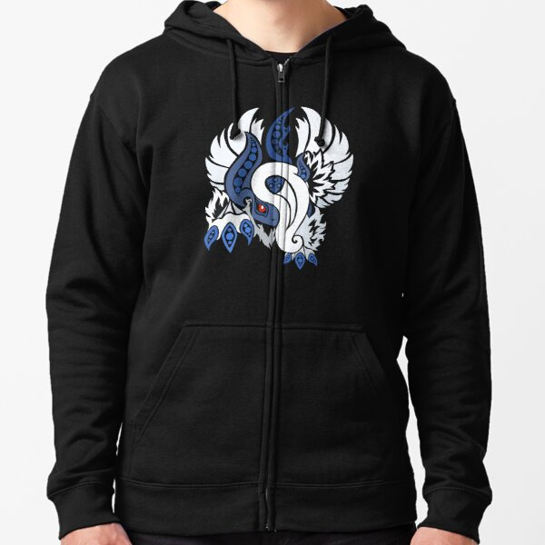 Mega Absol - Yin and Yang Evolved! Zipped Hoodie