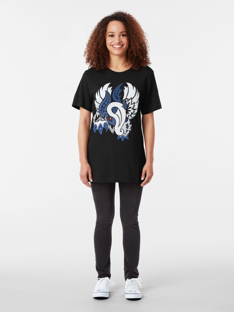 Alternate view of Mega Absol - Yin and Yang Evolved! Slim Fit T-Shirt