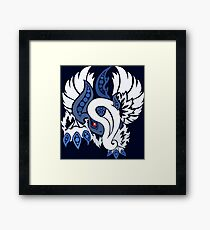 Mega Absol - Yin and Yang Evolved! Framed Print