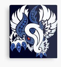 Mega Absol - Yin and Yang Evolved! Metal Print