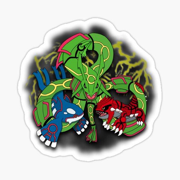 Rayquaza, Kyogre, & Groudon - Hoenn Remake Ahoy! Sticker