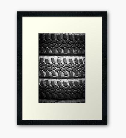 4x4 jeep tires Framed Print