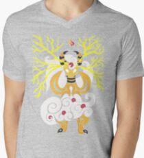 Tribalish Mega Ampharos - Eye of the Storm V-Neck T-Shirt