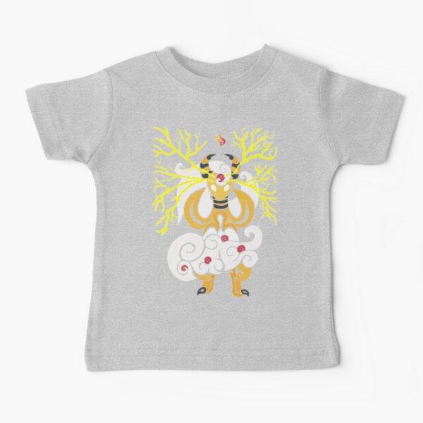Tribalish Mega Ampharos - Eye of the Storm Baby T-Shirt
