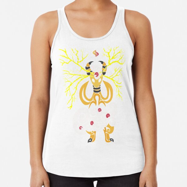 Tribalish Mega Ampharos - Eye of the Storm Racerback Tank Top