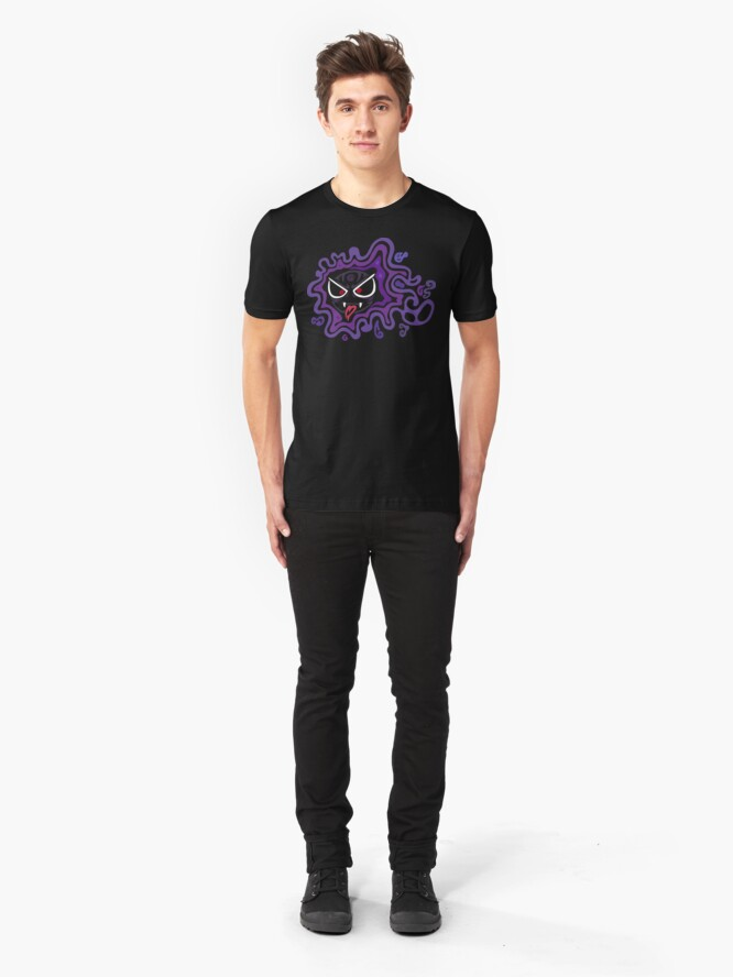 Alternate view of Tribal Ghastly - Creepy and Awesome! Slim Fit T-Shirt