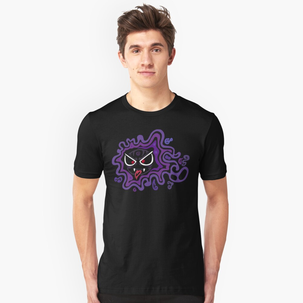 Tribal Ghastly - Creepy and Awesome! Slim Fit T-Shirt