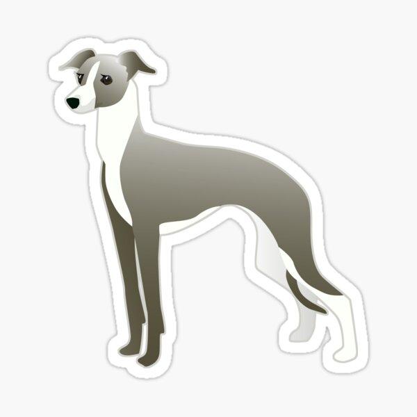 Italian Greyhound - Iggy - Basic Breed Silhouette Sticker