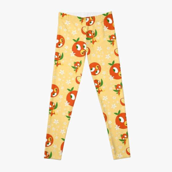Orange Blossom Bird (yellow) Leggings