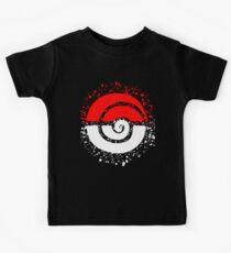 Splattered Tribalish Pokeball! Kids T-Shirt
