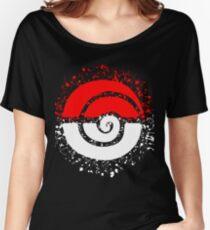 Splattered Tribalish Pokeball! Relaxed Fit T-Shirt