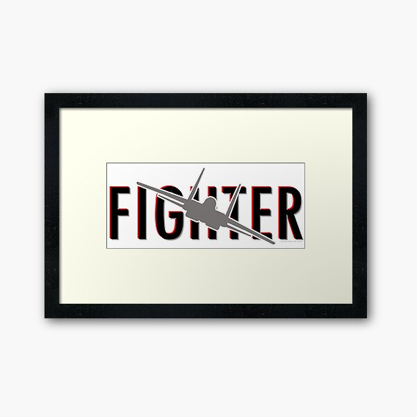 F-15 Fighter Framed Art Print