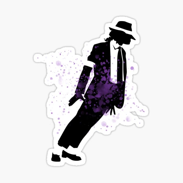 Michael Wall Tattoo Moonwalk Smooth Criminal STICKER JACKO