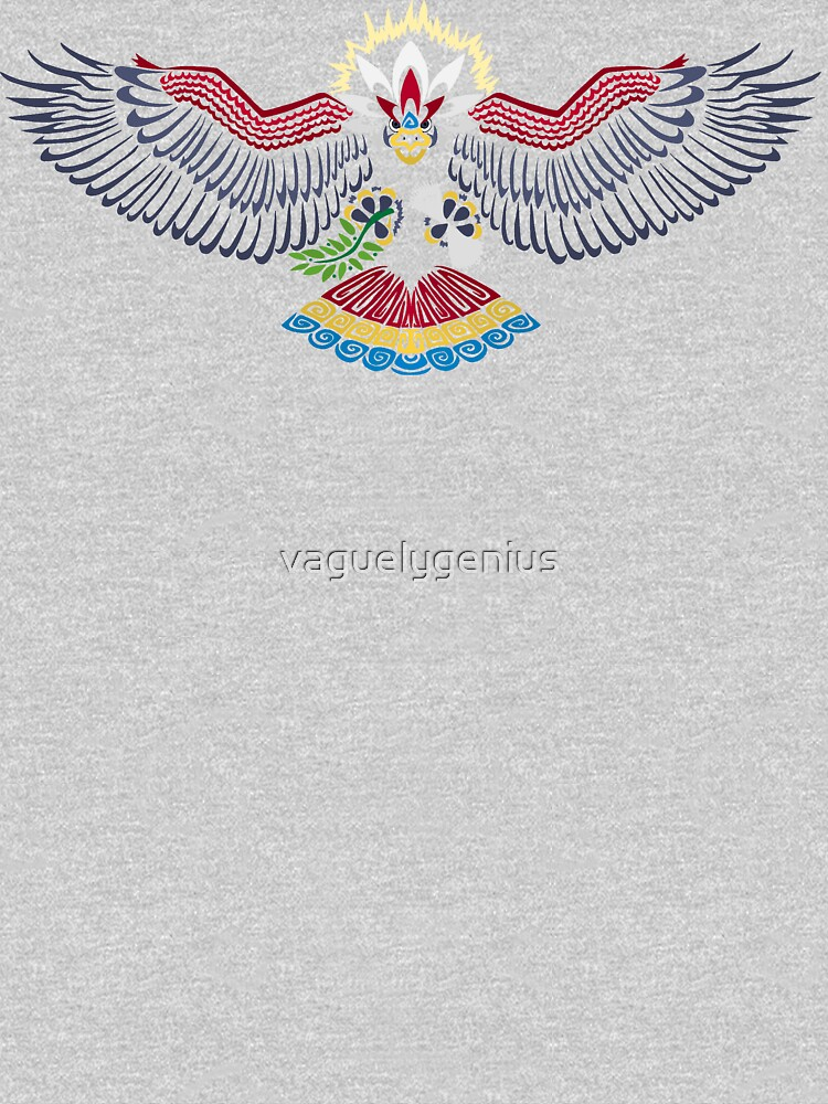 Colored Tribalish Braviary - The All-American Bird by vaguelygenius