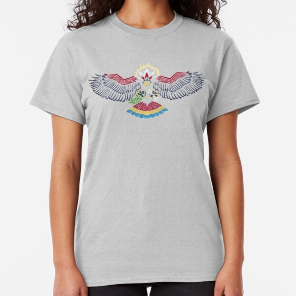 Colored Tribalish Braviary - The All-American Bird Classic T-Shirt