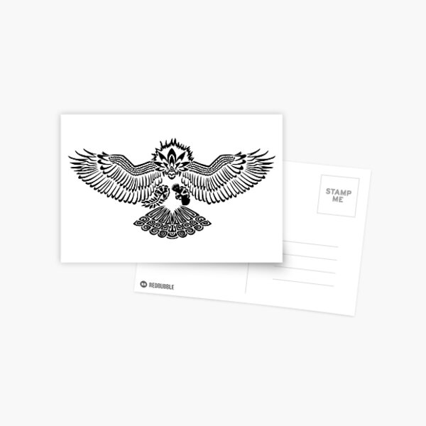 Tribalish Braviary - The All-American Bird Postcard
