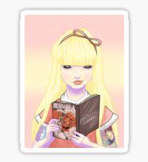 Mädchen lesen auch Comics! Titanen Sticker