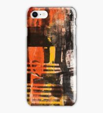 TIME IS THE FIRE IN WHICH WE BURN-PART 3—SCHWARTZ iPhone Case/Skin