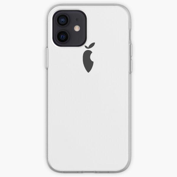 CARROT Parody Brand Phone Case BLACK iPhone Soft Case