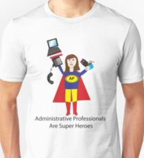 Administrative Professional Super Hero (Brunette) T-Shirt