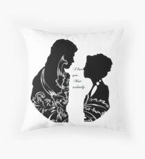 Elizabeth || Darcy  Throw Pillow
