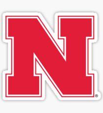 nebraska logo Sticker
