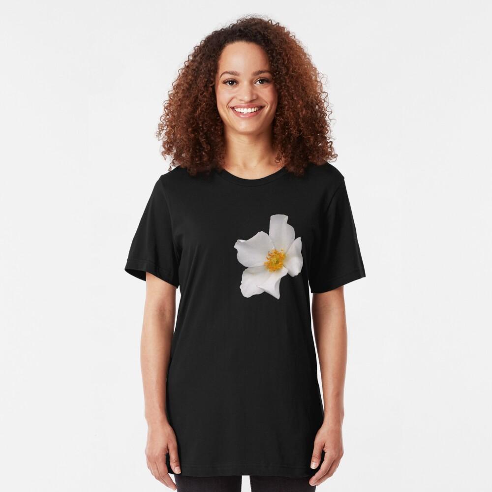 California Winter Rose Slim Fit T-Shirt