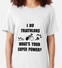 Triathlon Super Power Slim Fit T-Shirt