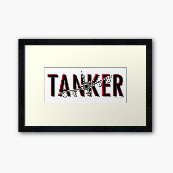 KC-135 Tanker Framed Art Print