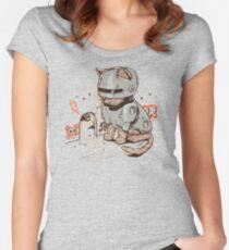ROBOCAT Fitted Scoop T-Shirt