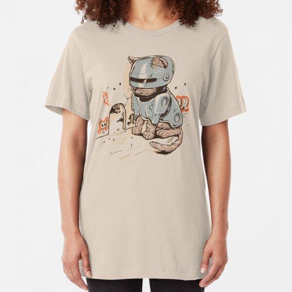 ROBOCAT Slim Fit T-Shirt