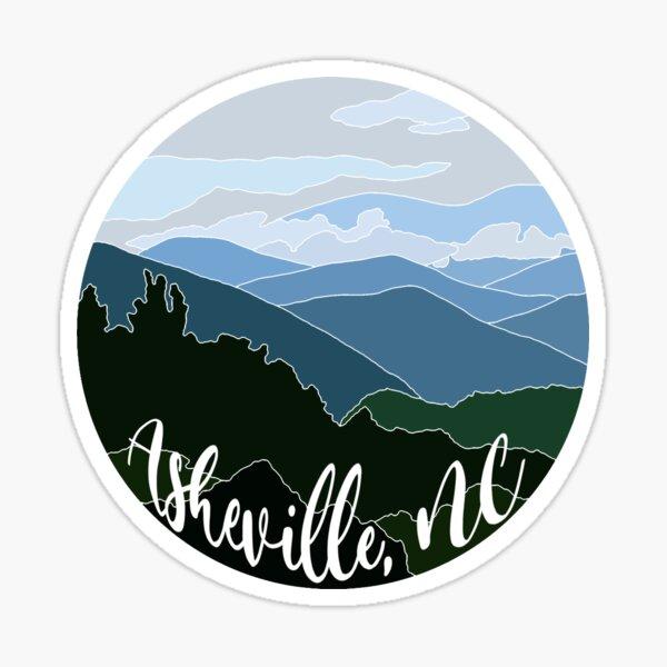 Asheville NC Sticker