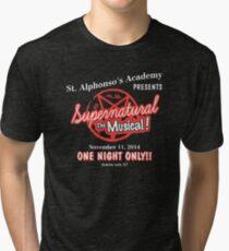 Supernatural The Musical Tri-blend T-Shirt
