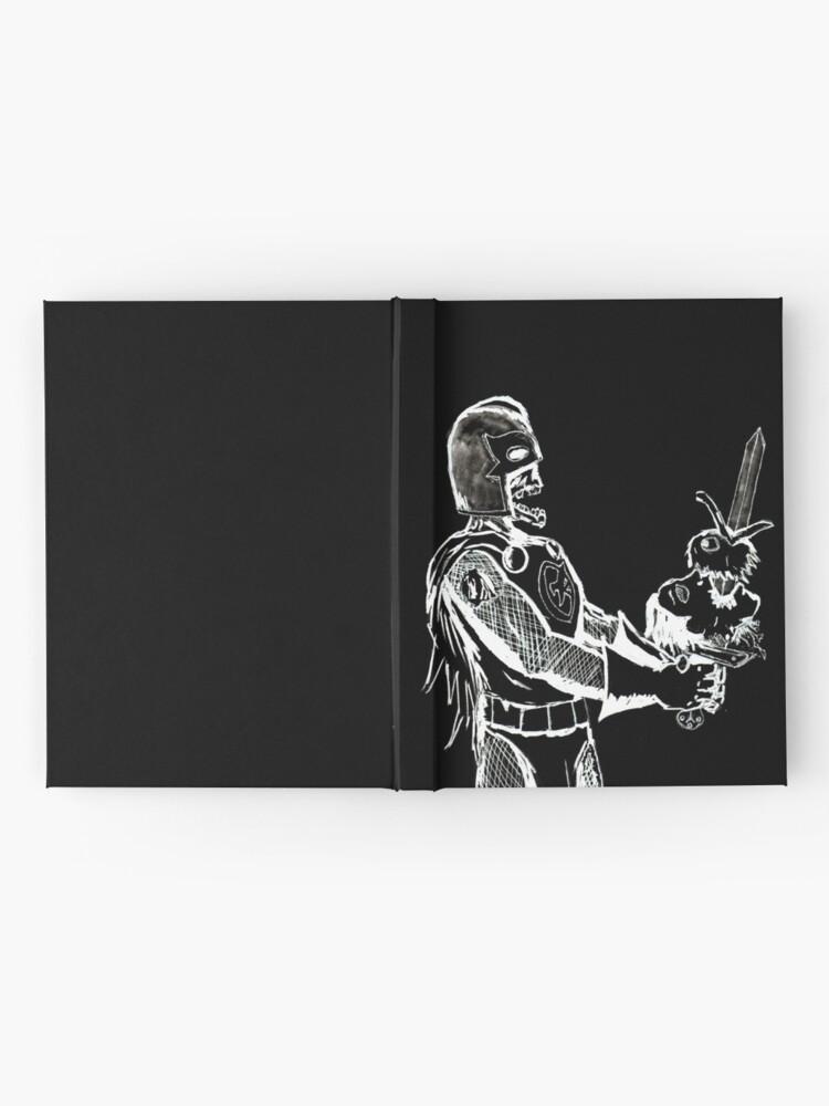 Alternate view of Zombie Black Knight Hardcover Journal